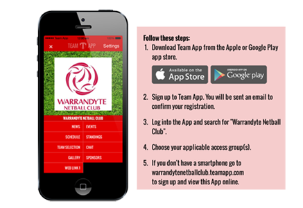 netball app