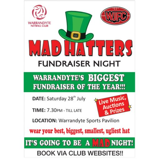 mad hatters fundraising event