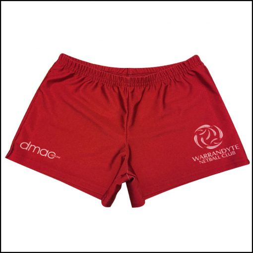 netball shorts warrandyte
