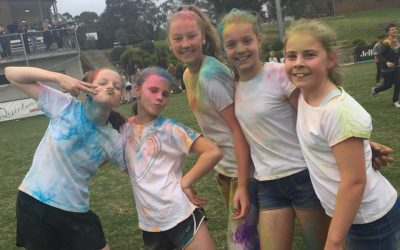 Junior Presentations and Colour Run